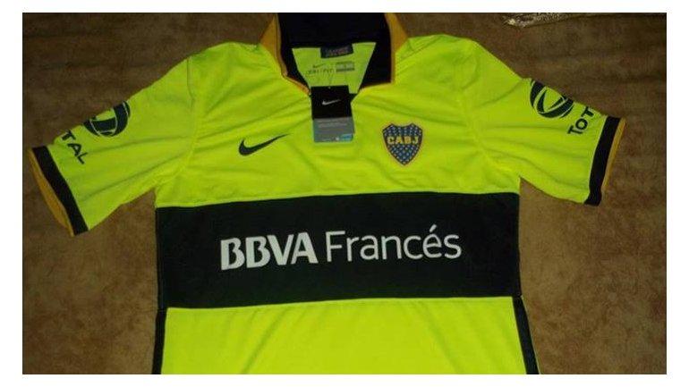 Nueva camiseta Nike fluo de Boca para la próxima temporada