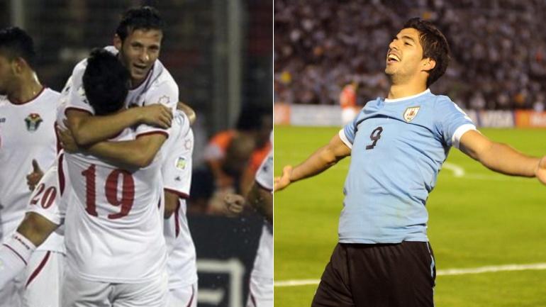 Jordania vs Uruguay en vivo