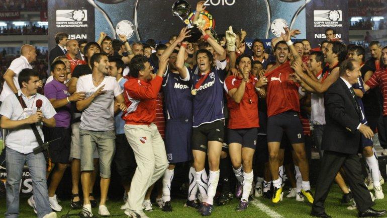 """La Copa Sudamericana, una competencia """"argentina"""""""