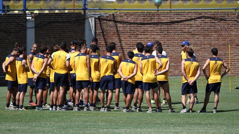 Prueba de jugadores del Club Atlético Boca Juniors