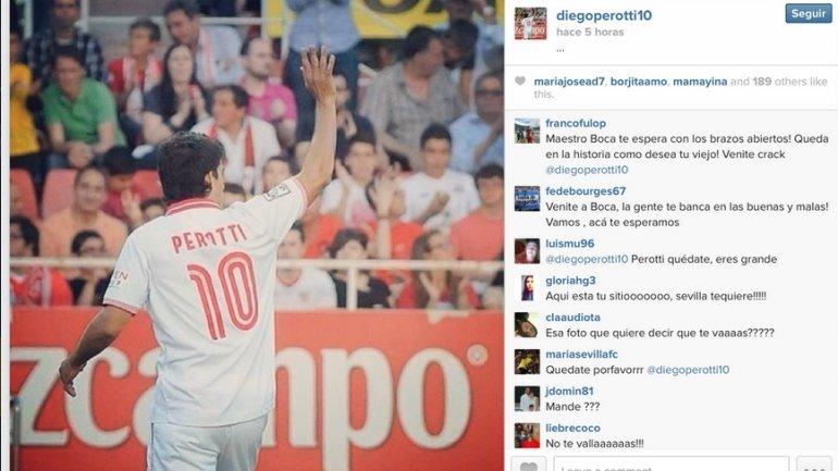 Perotti a Boca?