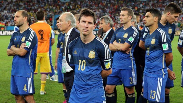 Brasil 2 - Argentina 0; Decepción