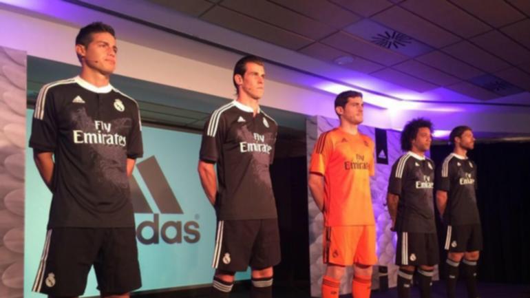 Oficial: Nueva camiseta adidas negra del Real Madrid con un dragón