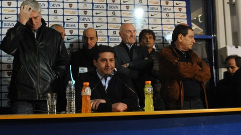 Angelici: Fue unánime la decisión de rescindirle a Bianchi, la idea es mañana anunciar al nuevo técnico