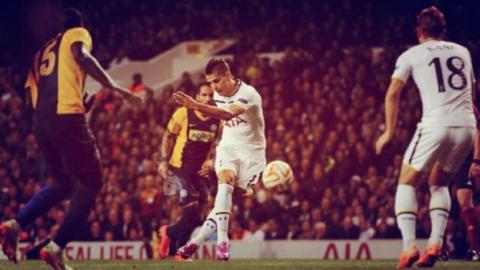 Tremendo gol de Lamela: como en las inferiores de River, convirtió de rabona