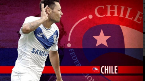 Otro argentino cambia de camiseta: Zárate jugará para la Selección de Chile
