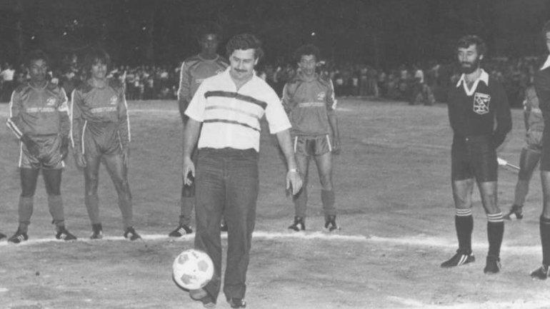 Pablo Escobar e il calcio
