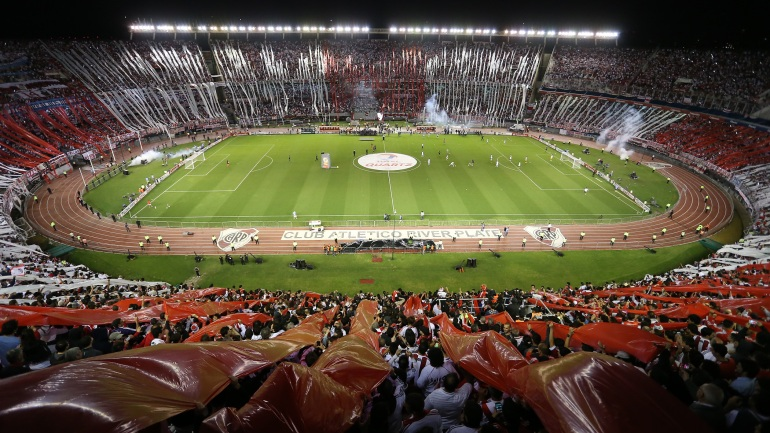 River también ganó en las tribunas y casi quiebra el récord histórico de la Copa Libertadores