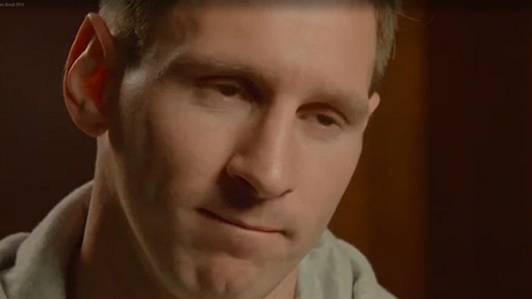 """Messi: """"quien te conoce goles en 8vos de un mundial"""""""