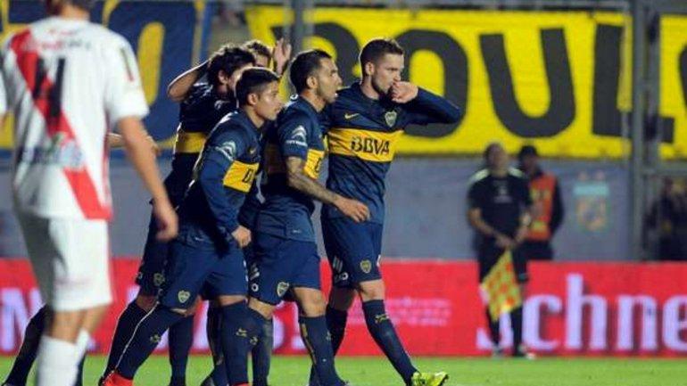 Boca se confundio y jugo como debia jugar en la Libertadores