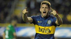 Jonathan Calleri tuvo un gran 2015 con Boca y está en la órbita del Inter