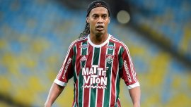 El último equipo de Ronaldinho fue Fluminense.