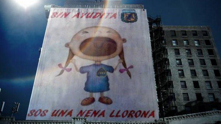 Los afiches de River burlándose de Boca