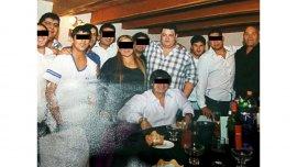 La foto que publicó la revista Noticias con Matías Messi