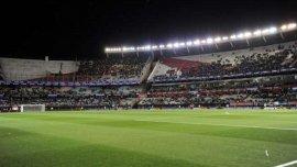 El Monumental mostró poco público en el partido entre Argentina y Ecuador