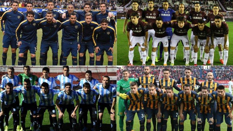 Boca, Lanús, Racing y Rosario Central, los sobrevivientes en la Copa Argentina