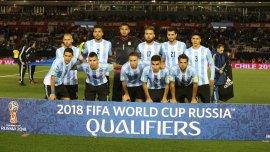 Formación argentina ante Ecuador