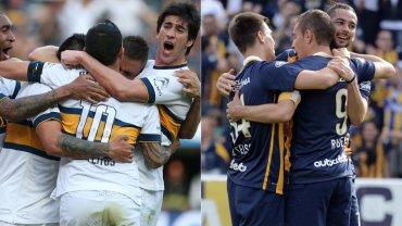 Boca y Rosario Central, a fondo por la Copa Argentina