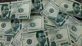 Los billetes falsos que circularon en el Gigante de Arroyito