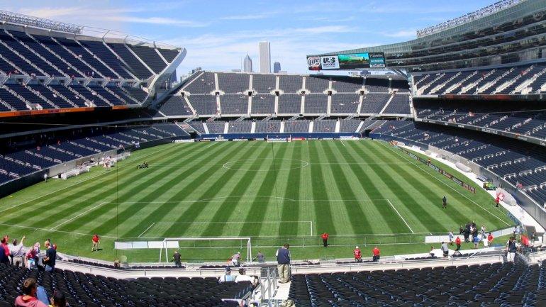 El <i>Soldier Field</i> de Chicago puede recibir hasta 60 mil espectadores