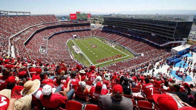 71 mil personas podrán disfrutar en el <i>Levi's Stadium</i> de San Francisco