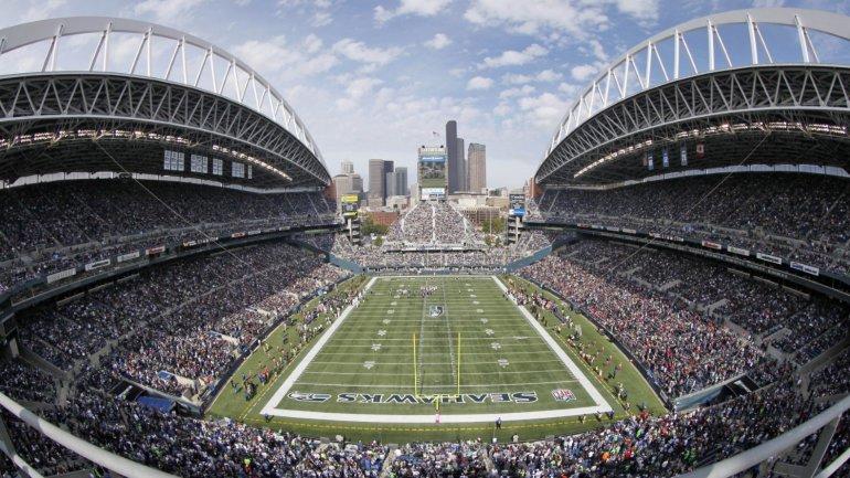 <i>CenturyLink Field</i>, ubicado en Seattle, tiene capacidad para 67 simpatizantes