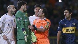 Diego Ceballos tuvo una actuación para el olvido en la Final de la Copa Argentina