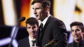 Lionel Messi, elegido mejor jugador de la Liga de España 2014/2015