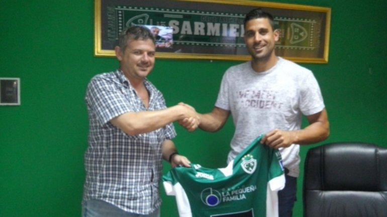 Emanuel Trípodi, ex arquero de Boca, firmó con Sarmiento de Junín
