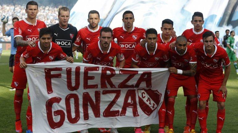 La formación de Independiente