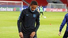 Neymar se lesionó y quedó en duda para el Mundial de Clubes