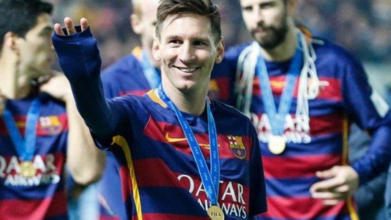Lionel Messi, la principal figura del Barcelona