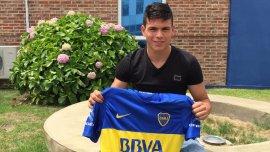 Jonathan Silva, nuevo jugador de Boca