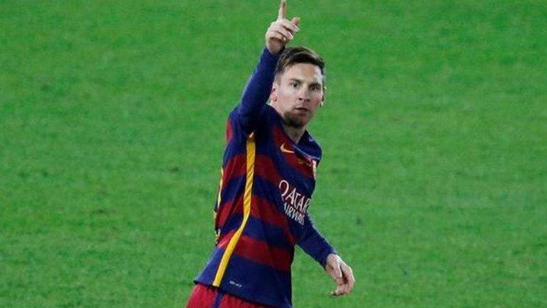 Lionel Messi, insaciable con la camiseta del Barcelona