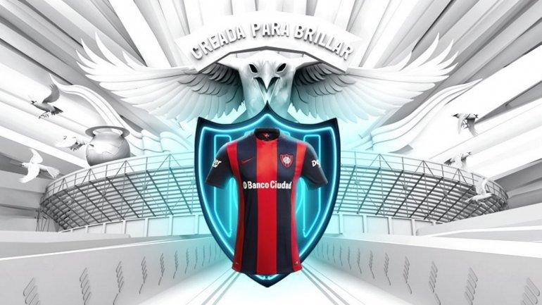 La nueva camiseta de San Lorenzo