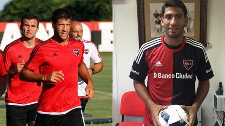 Sebastián Domínguez y Sebastián D'Angelo ya entrenan en Newell's