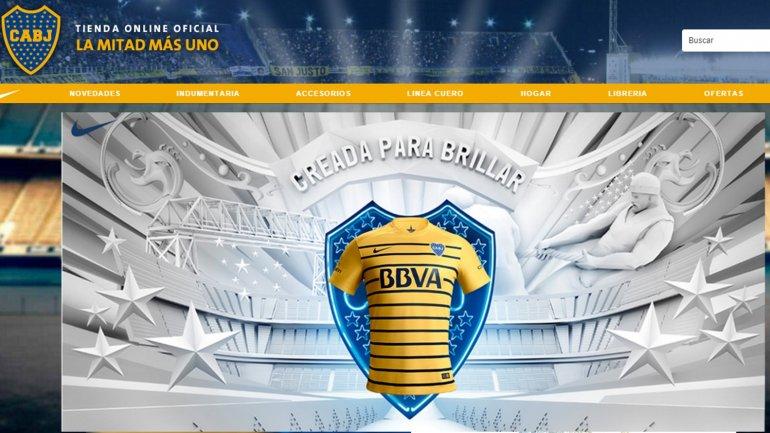 Boca presentó la camiseta suplente que usará en la temporada 2016