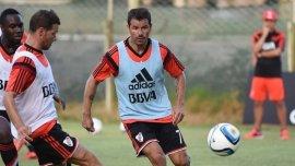 Rodrigo Mora se entrena a full en River