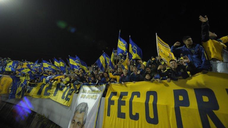 La hinchada de Boca alentó a su equipo ante River