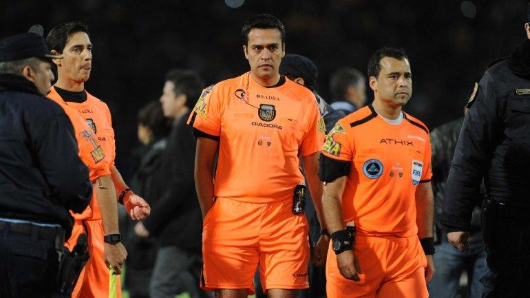 Diego Ceballos dirigió por última vez la Final entre Boca y Rosario Central