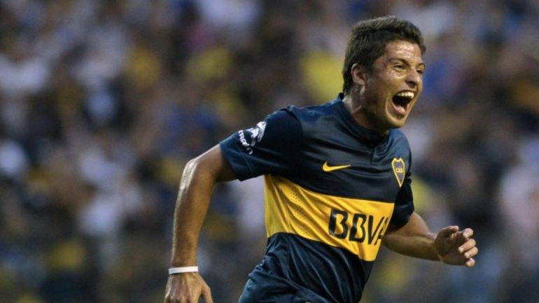 Sebastián Palacios fue importante en la conquista del último título local de Boca