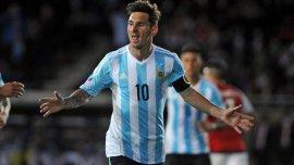 Lionel Messi marcó en el último encuentro que la Selección disputó en el Kempes