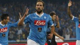 Gonzalo Higuaín, inmerso en un momento espectacular en Napoli