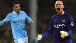 Martín Demichelis y Willy Caballero no entrarían en los planes de Pep Guardiola en el Manchester City