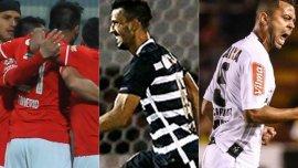 Jornada de triunfos para Toluca, Corinthians y Atlético Mineiro