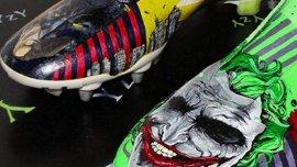 Botines personalizados con Batman y el Guasón