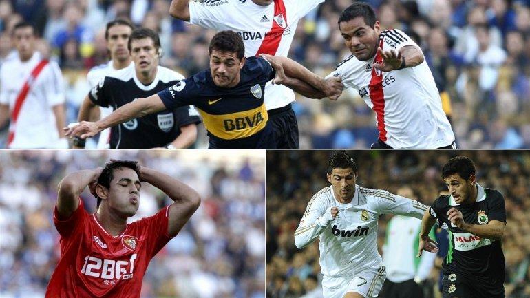 Boca, Sevilla y Racing de Santander, los otros clubes en los que jugó el 'Laucha'