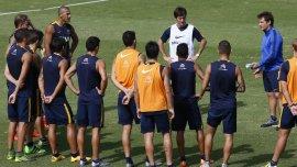 Guillermo Barros Schelotto hará varios cambios para el próximo partido de Boca