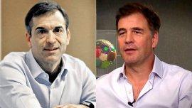 Ignacio Galarza y Alejandro Burzaco, actual y ex CEO de Torneos