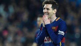 Lionel Messi, líder del Barcelona